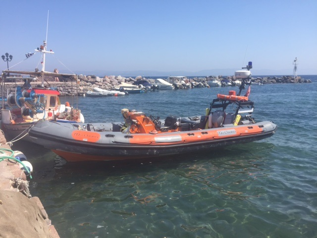 Mo Chara- Refugee Rescue's boat
